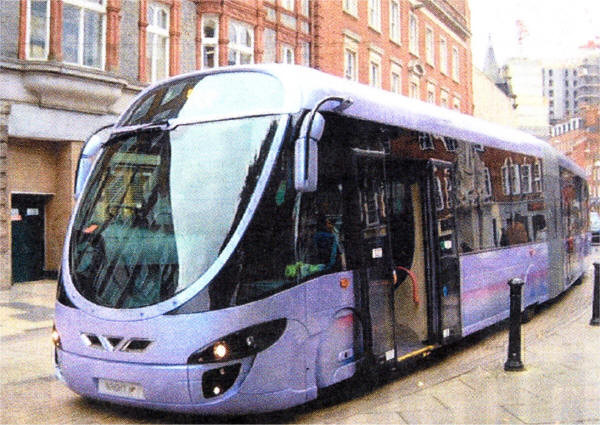 The type of vehicle which would be used on the system proposed by ...